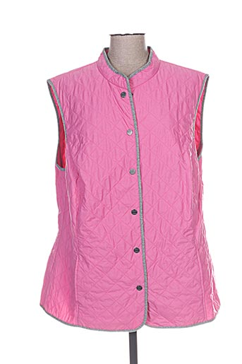erfo manteaux femme de couleur rose