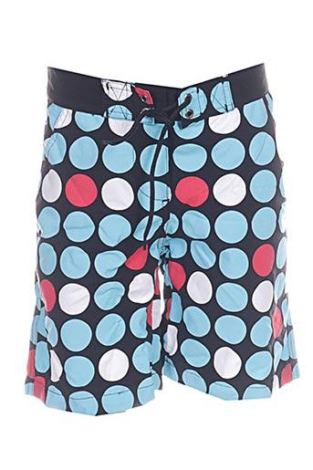 mondaca shorts / bermudas fille de couleur bleu