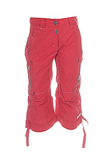icepeak pantacourts garçon de couleur rouge