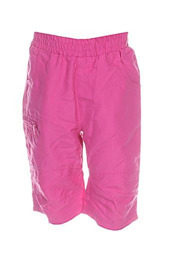 icepeak pantacourts fille de couleur rose