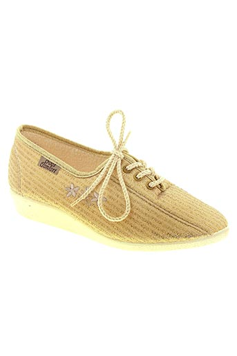 goes chaussures femme de couleur jaune