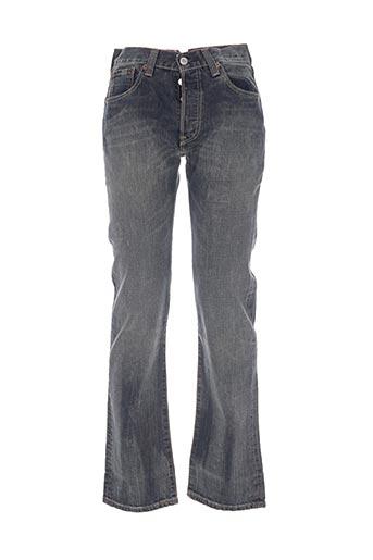 levis jeans homme de couleur bleu