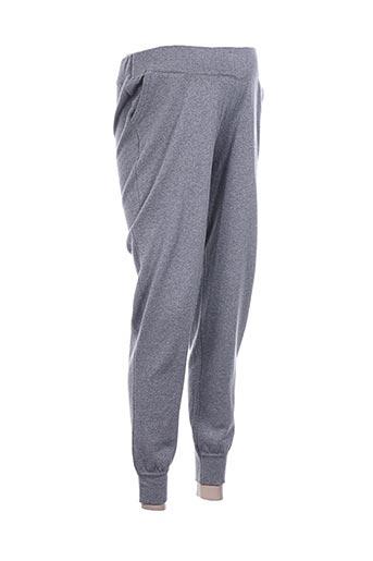 slacks EFFI_CHAR_1 co pantalons femme de couleur gris