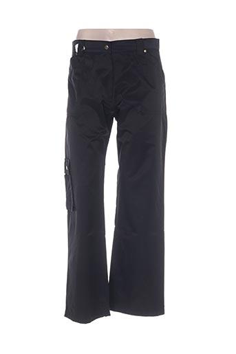 Pantalon casual noir FRENCH COAST pour femme