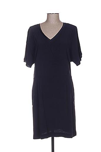 mkt studio robes femme de couleur bleu