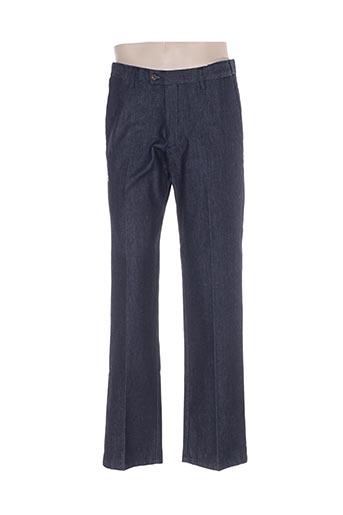 lucky's 47 by lucchini jeans homme de couleur bleu