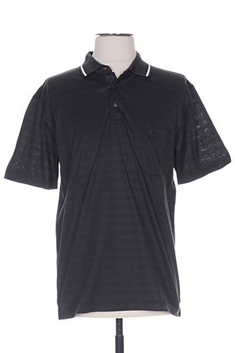 oliver holton t-shirts homme de couleur noir