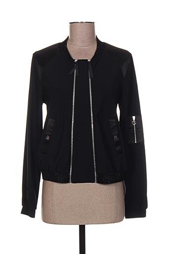 eva kayan vestes femme de couleur noir