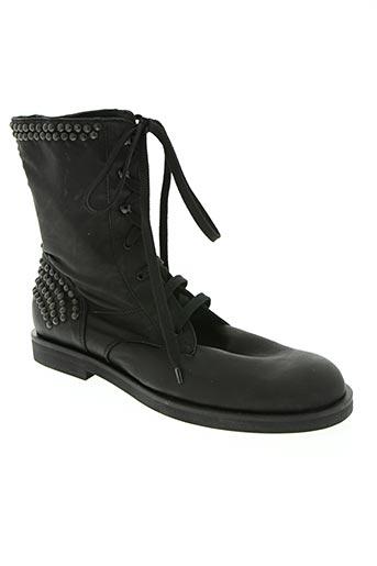 rundholz chaussures femme de couleur noir