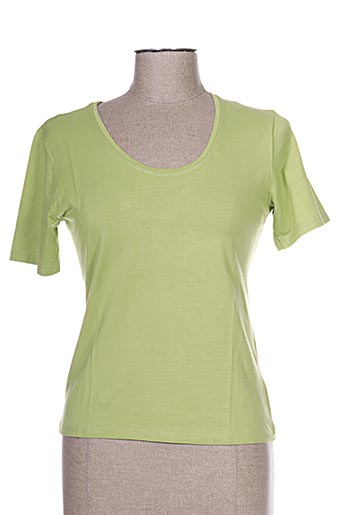 kananga t-shirts femme de couleur vert