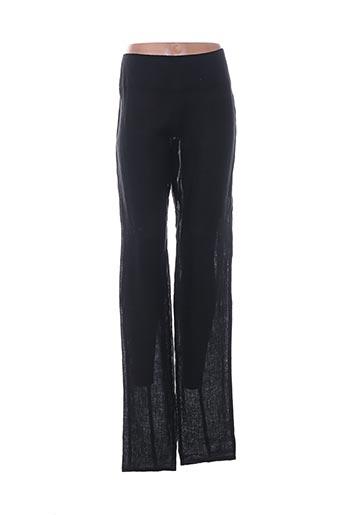 sarah pacini pantalons femme de couleur noir