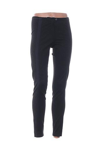 annette görtz pantalons femme de couleur noir