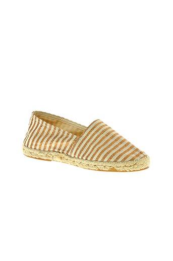la maison de l'espadrille chaussures femme de couleur beige