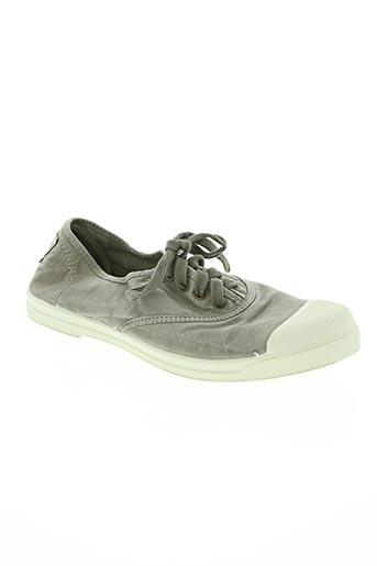 natural world chaussures femme de couleur gris