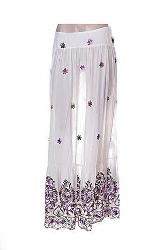 Jupe longue blanc ANNA RACHELE pour femme
