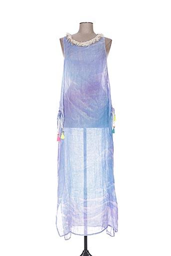 Robe longue bleu IL MONDO E MIO pour femme