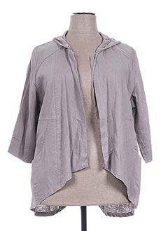 Veste casual gris OLIVER JUNG pour femme