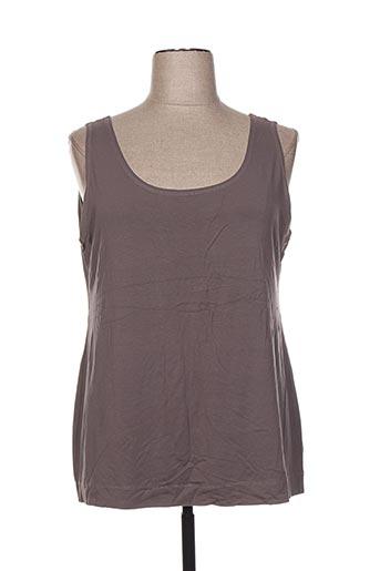 gershon bram t-shirts femme de couleur gris