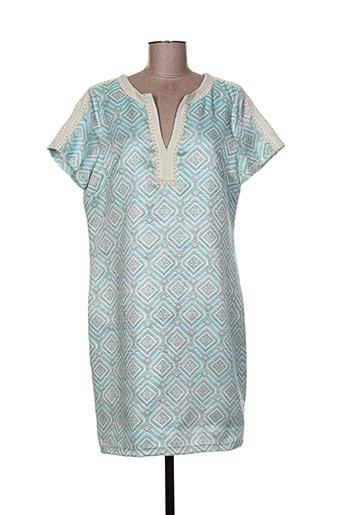 esqualo robes femme de couleur bleu