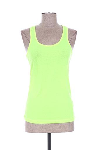 eylex t-shirts femme de couleur vert