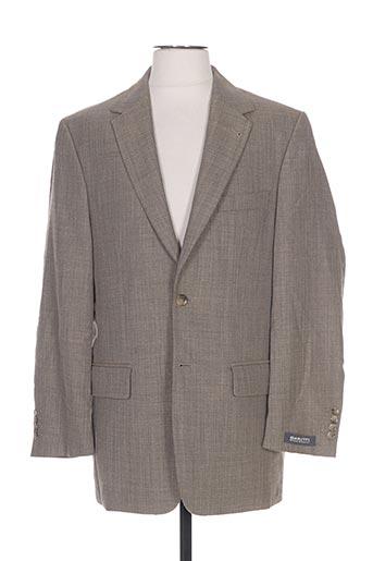 barutti vestes homme de couleur beige