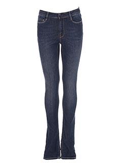 Jeans coupe slim bleu HARRIS WILSON pour femme
