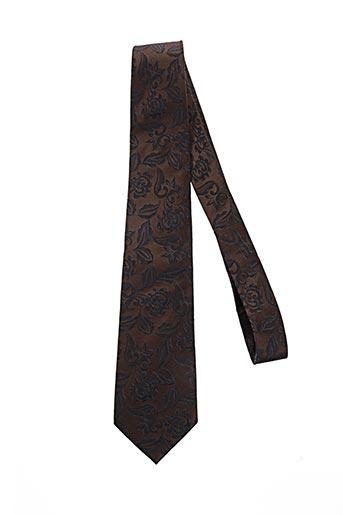 pierre clarence accessoires homme de couleur marron