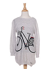 Robe pull gris MAYORAL pour fille seconde vue