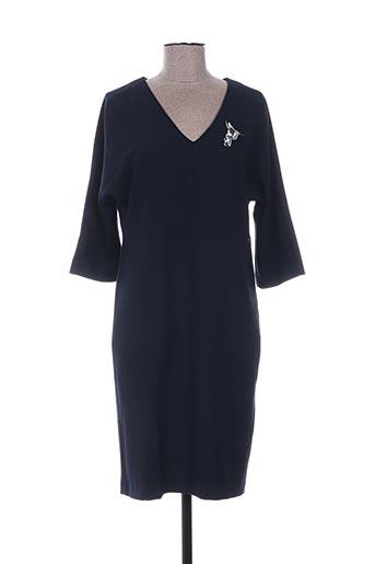 Robe pull bleu RIVER WOODS pour femme