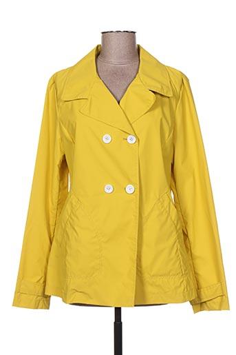 Coupe-vent jaune GUXY pour femme