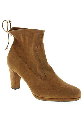 peter kaiser chaussures femme de couleur marron