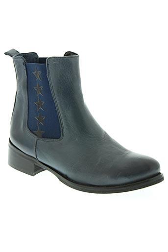 piranha chaussures femme de couleur bleu
