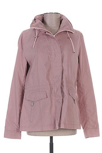 buretti manteaux femme de couleur rose