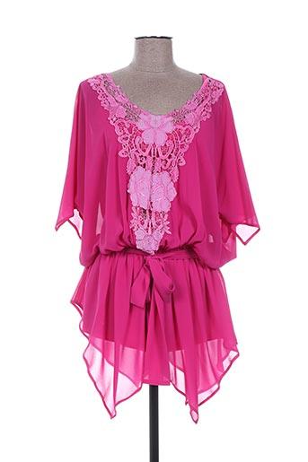 giani f tuniques femme de couleur rose