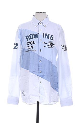 jezequel chemises homme de couleur blanc