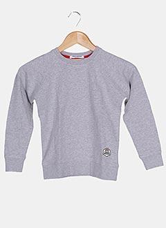 Sweat-shirt gris FRENCH DISORDER pour enfant