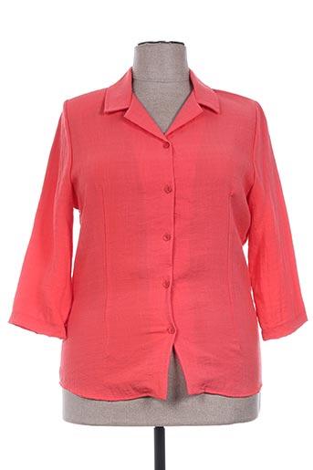 20/20 chemises femme de couleur orange