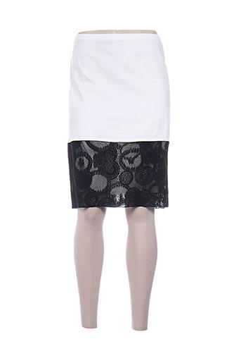 pause cafe jupes femme de couleur blanc