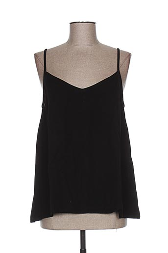 garuda garuzo chemises femme de couleur noir