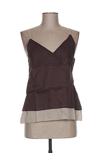 too katai chemises femme de couleur marron