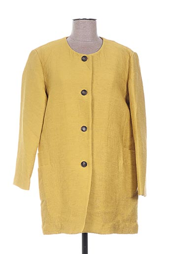 Veste casual jaune THE KORNER pour femme