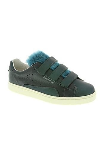 zero centcinq chaussures femme de couleur vert