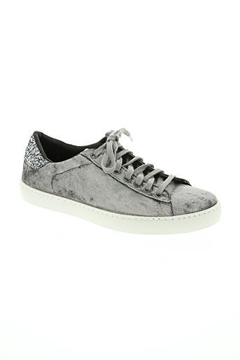 victoria chaussures femme de couleur gris