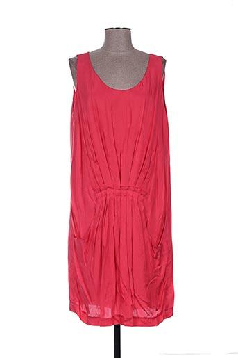 irene van ryb robes femme de couleur rouge