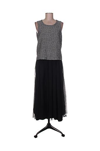 deha robes femme de couleur noir
