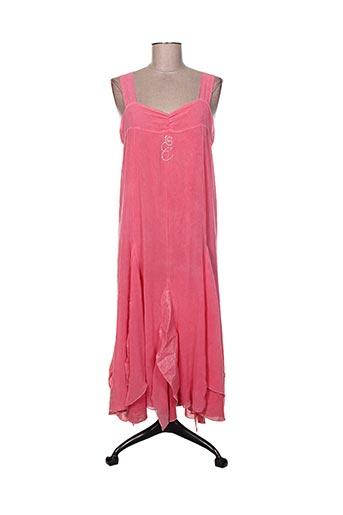 elisa cavaletti robes femme de couleur rose