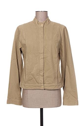 Veste casual beige BENSIMON pour femme