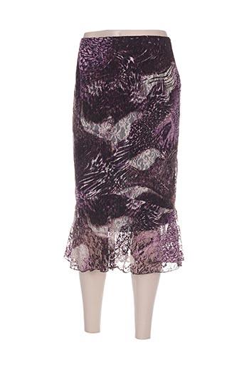kananga jupes femme de couleur violet