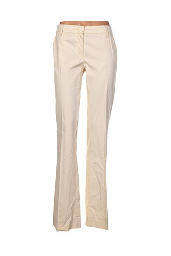 Pantalon casual beige LOVE MOSCHINO pour femme