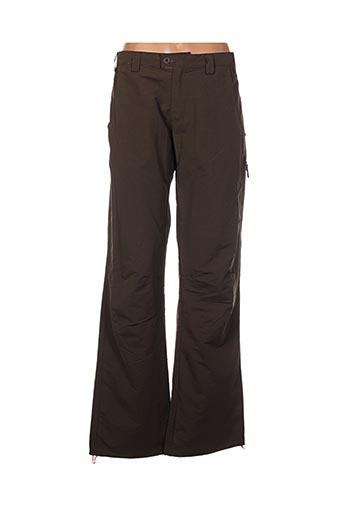 Pantalon casual marron HUSKY pour homme